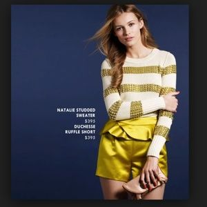 J Crew Collection NATALIE STUDDED SWEATER